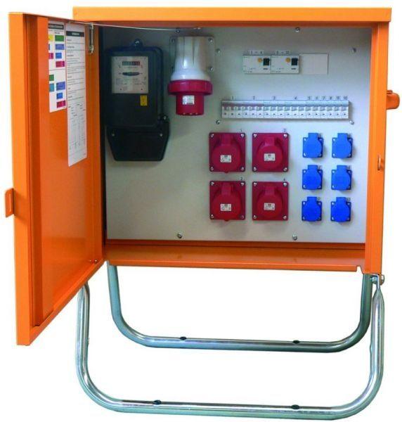 armoire electrique de distribution electrique a montage mural a portes battantes 3 3 44 kva max 63 a ev series
