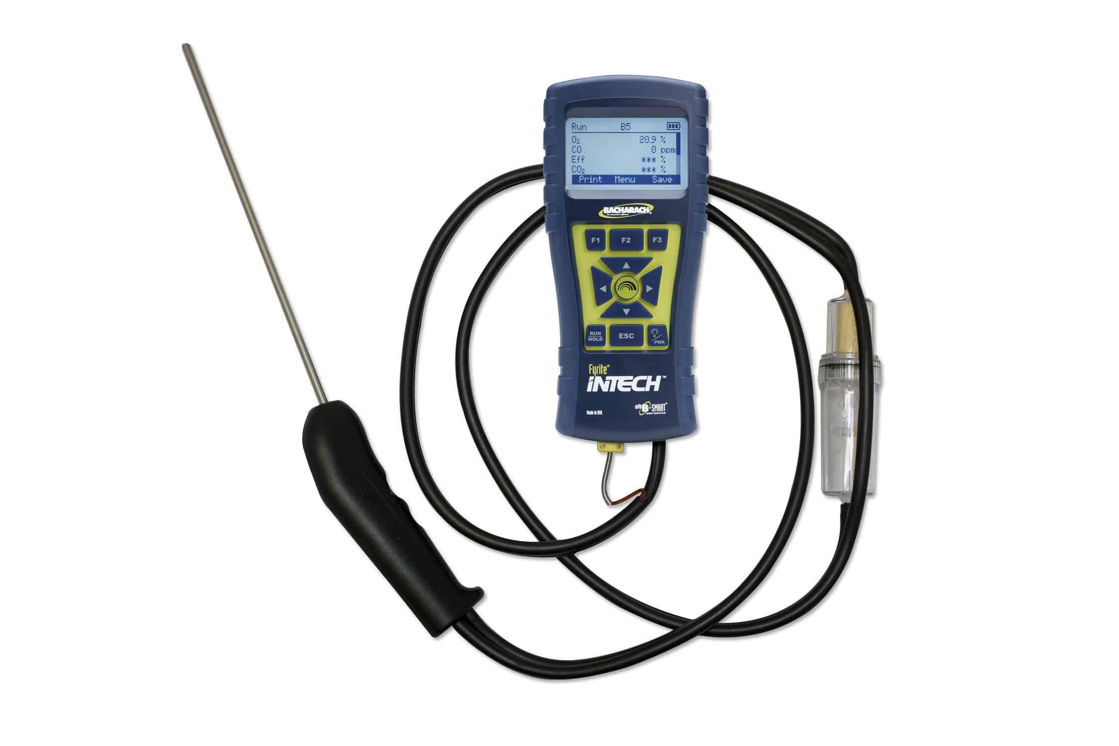 Analyseur d'oxygène / de gaz d'échappement / de monoxyde de carbone / de gaz naturel - Fyrite® InTech® - Bacharach - Vidéos