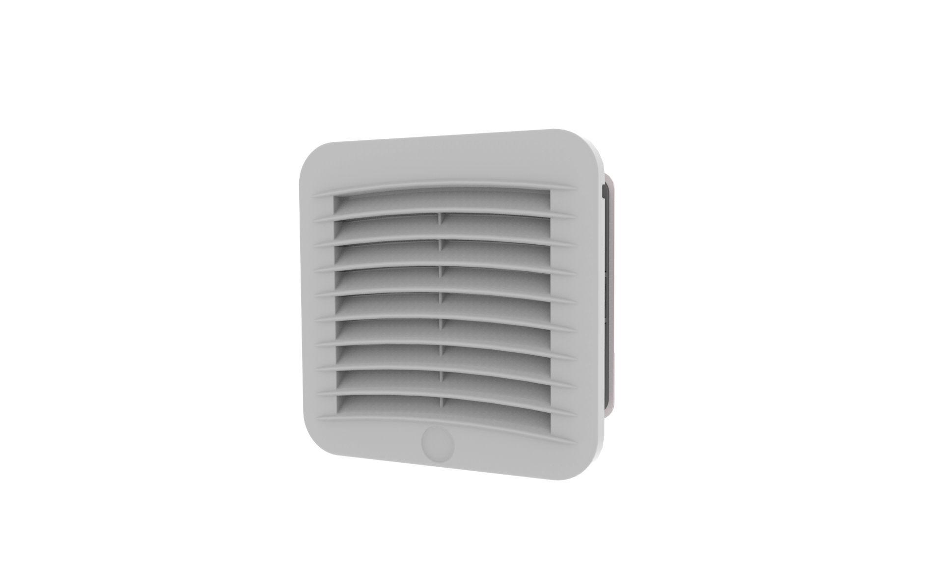 ventilateur pour armoire electrique axial a filtre ip55