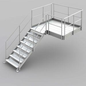 escalier metallique tous les