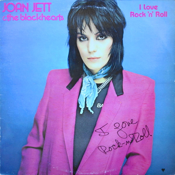 Joan Jett The Blackhearts I Love Rock 39N39 Roll Vinyl