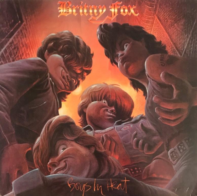 Britny Fox – Boys In Heat (1988, Vinyl) - Discogs