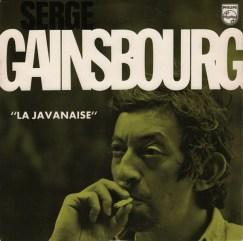 Serge Gainsbourg – La Javanaise 單曲 // 圖片來源: Discogs