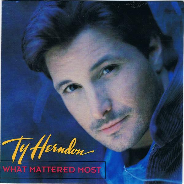 Ty Herndon, What Mattered Most, Alternative Version, Inspiration, LGBTQ