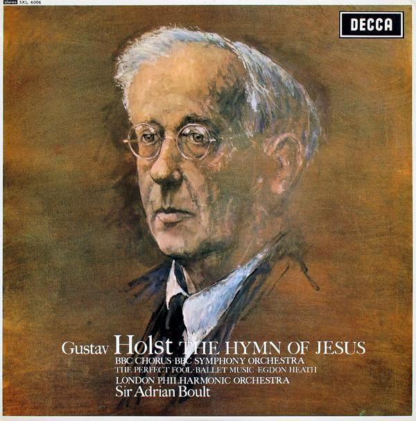 gustav holst sir adrian boult the london philharmonic