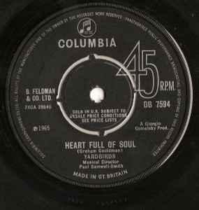 Yardbirds* - Heart Full Of Soul (1965. Vinyl)   Discogs