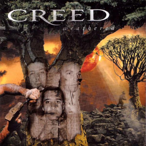 creed weathered 2001 cd