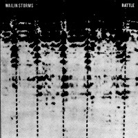 Wailin Storms - Rattle (2020, White/Black Swirl, Vinyl) | Discogs