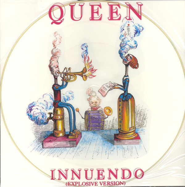 Queen  Innuendo Explosive Version Vinyl 12 45 RPM