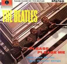 The Beatles Please Please Me album cover