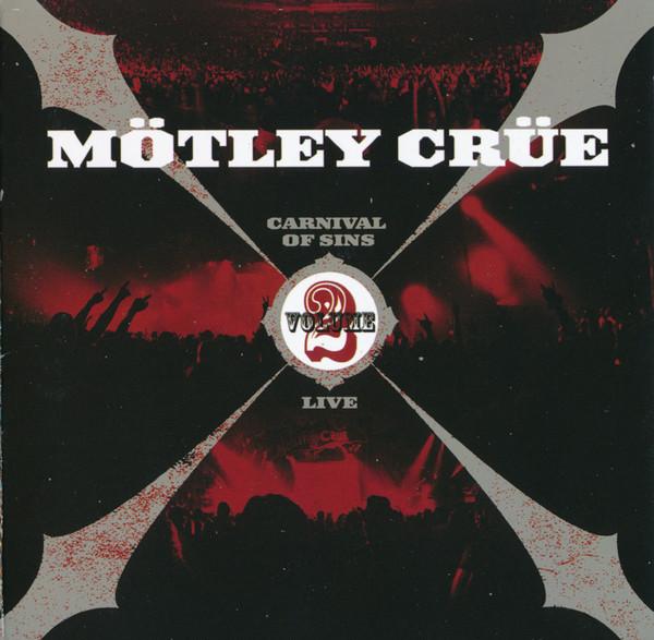 Mtley Cre Carnival Of Sins Live Vol 2 CD Album