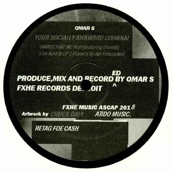 Omar-S - Your Socially Awkward Criminal album cover