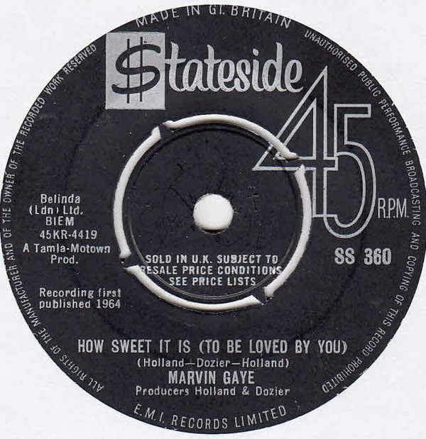 Download Marvin Gaye - How Sweet It Is (To Be Loved By You ...