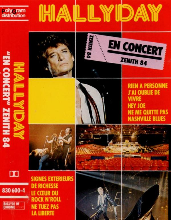 Johnny Hallyday Drôle De Métier : johnny, hallyday, drôle, métier, Johnny, Hallyday, Concert, Zénith, (1985,, Cassette), Discogs