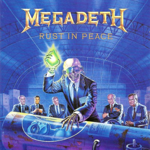 Megadeth - Rust In Peace (1990, CD) | Discogs