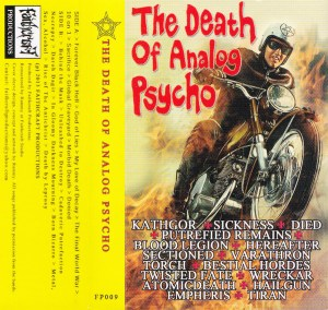 Various ‎– The Death Of Analog Psycho