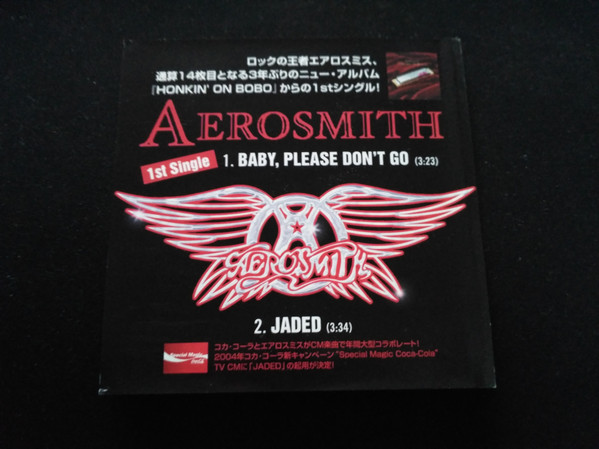 Aerosmith - Baby.Please Don't Go / Jaded (2004. CDr) | Discogs