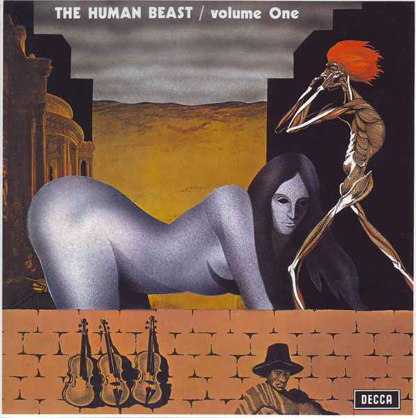 The Human Beast Volume One album cover