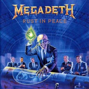 Bilderesultat for Megadeth rust in peace