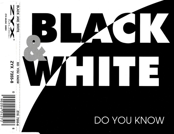 Black White Do You Know 1994 Cd Discogs