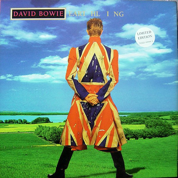 David Bowie Earthling Vinyl LP Album Limited Edition