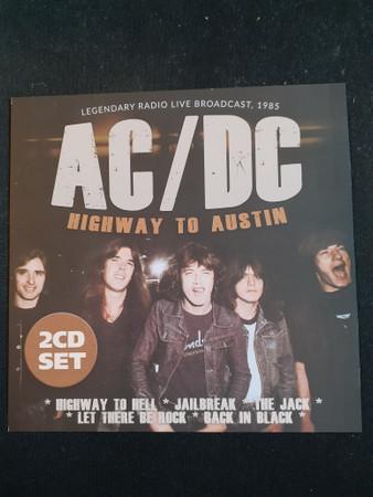 Highway To Acdc Forum : highway, forum, AC/DC, Highway, Austin,, Legendary, Broadcast,1985, (2020,, Discogs