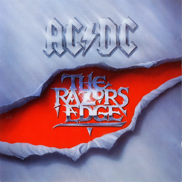 AC/DC - The Razors Edge (1990, CD) | Discogs