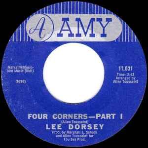Lee Dorsey - Four Corners Part I & II (Vinyl, 7