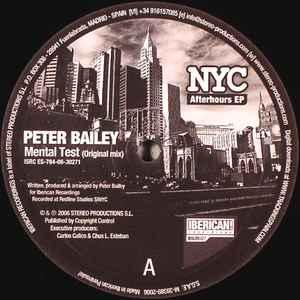 Peter Bailey Richie Santana Nyc Afterhours Ep Discogs