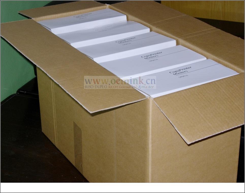 Gestetner MASTER  Compatible Thermal Master  Box of 2