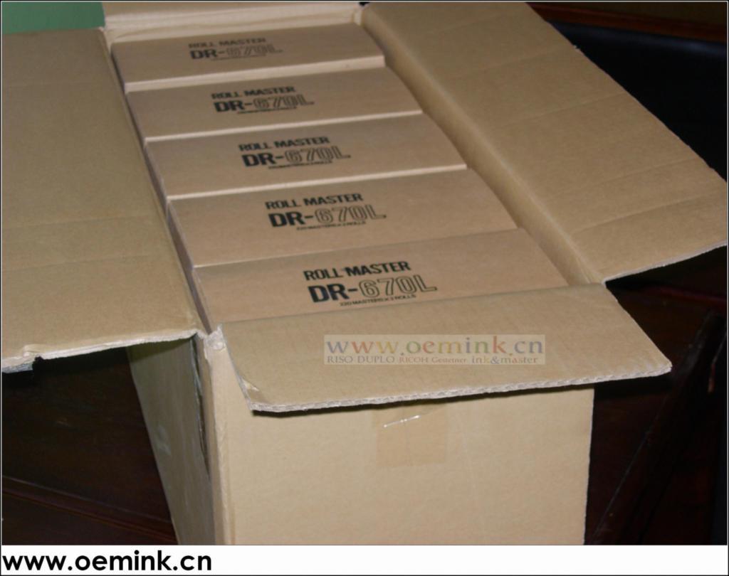 得寶DUPLO 670L 熱敏蠟紙 熱敏版紙 - 北京市 - 生產商 - 產品目錄 - 北京市立達成辦公設備經營部