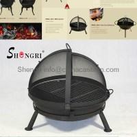 charcoal fire pit BBQ grill - SRBQ-2315 - Shengri (China ...