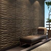 MDF 3D wave panel wall decor, beach - China - Manufacturer ...