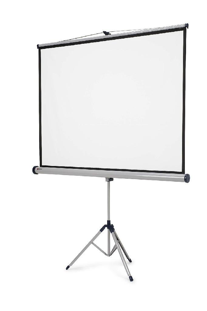Portable 84 inch tripod screen/ 4:3 projector manual