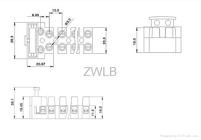 din in line fuse terminal block auto electrical wiring diagram related din in line fuse terminal block civic power window wiring diagram