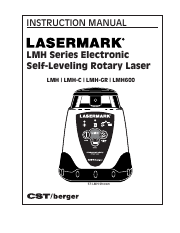 Lasermark LMH Instruction Manual