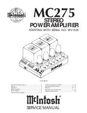 Macintosh MC275 Service Manual