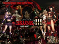"""Real-time 3D total violation fantasy """"SKUNK III"""" Godkiller"""
