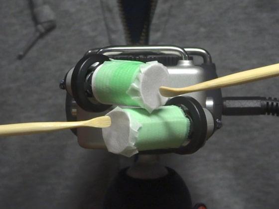 [umino ASMR] 【声なし】9種類の音圧耳かき / H5