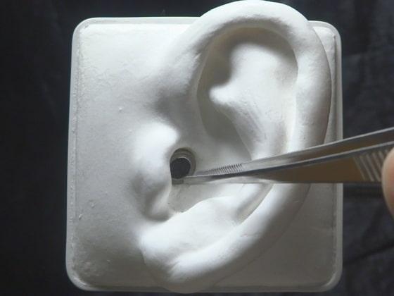 [umino ASMR] 【声なし】5種類の耳かき(爪楊枝、ピンセット、エラストマーetc) / SR3D