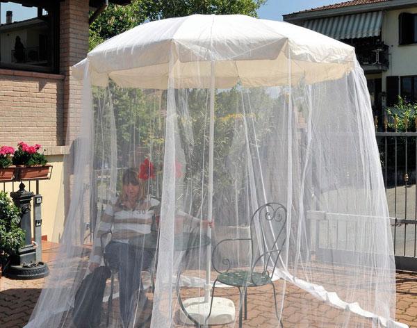 Zanzariera per ombrellone  Tutto A 10   Dmail