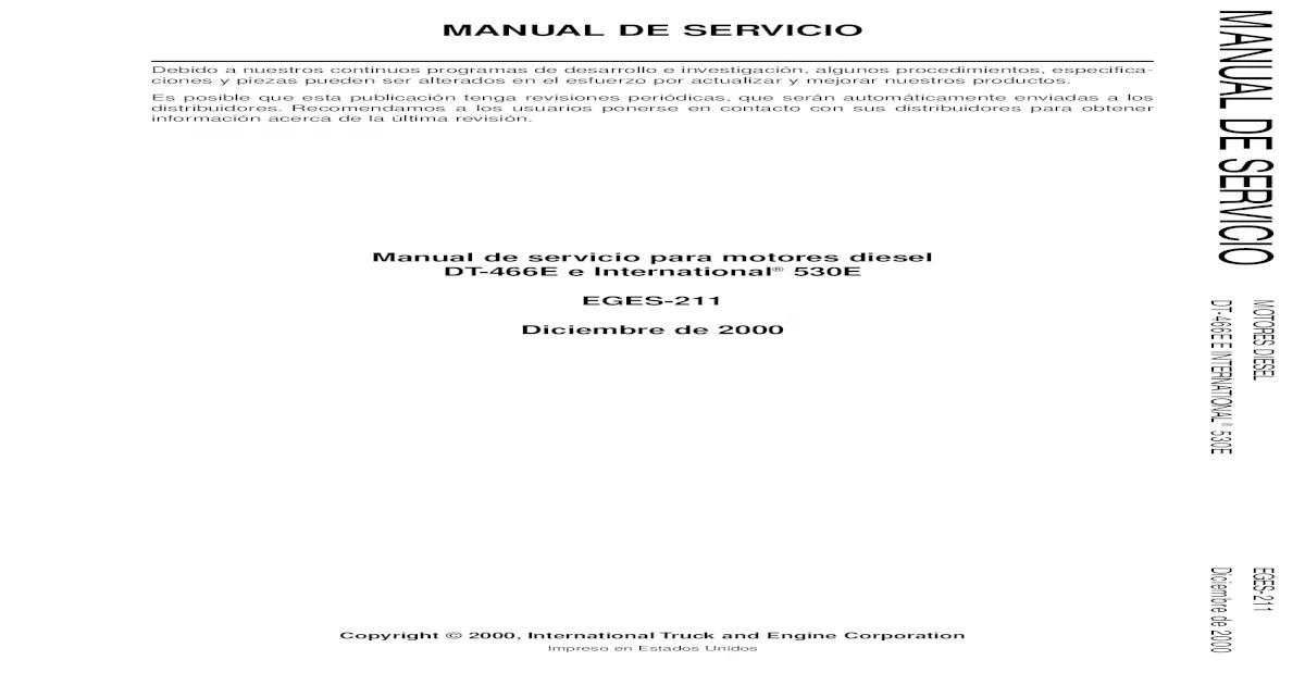 Manual de Servicio DT466 y DT530.pdf