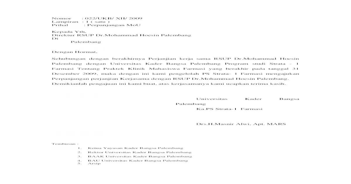 surat perpanjangan MOU.doc