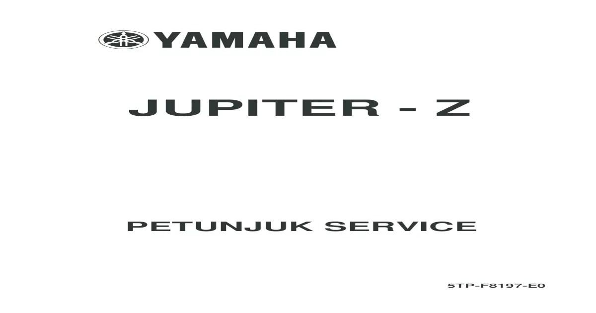 Wiring Diagram Jupiter Z
