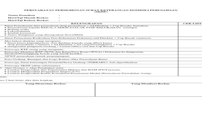 Contoh Surat Keterangan Domisili Dari Pengelola Gedung Kumpulan Surat Penting Cute766