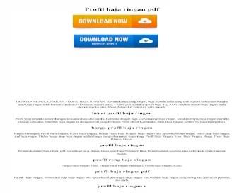 pabrik baja ringan profil z pdf nbsp dengan