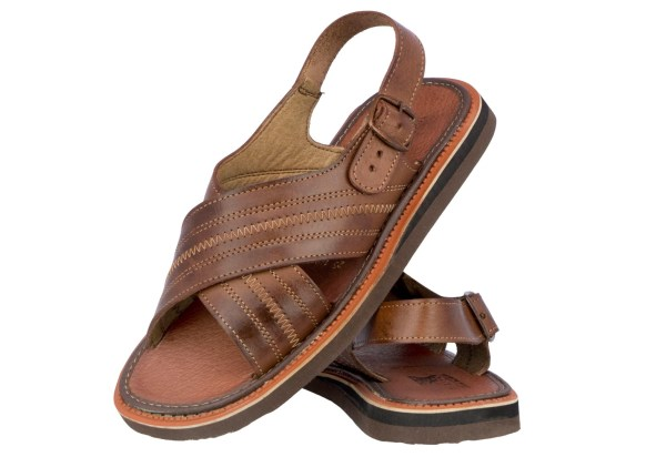 Mens 005 Buckle Style Real Leather Mexican Huaraches