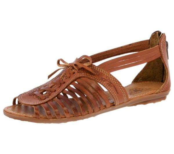Women' 222 Genuine Huaraches Mexican Sandals Flip Flop
