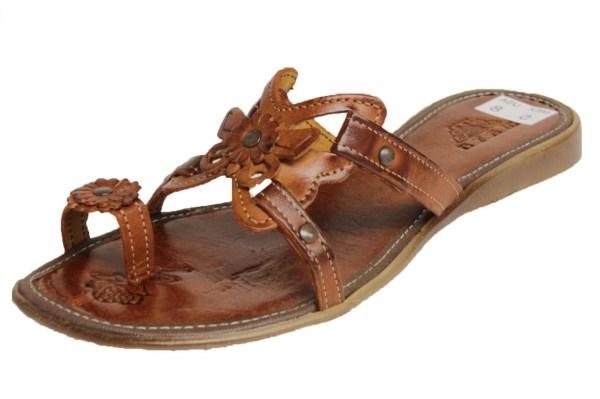 Womens 770 Flip Flops Genuine Leather Huarache Sandal