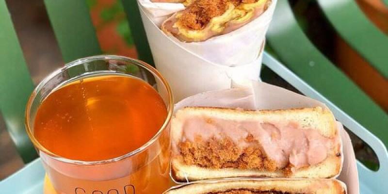 「台北松山區」吃個早餐也能很幸福!「幸福的一天 Happiness day」
